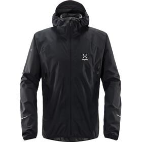Haglöfs L.I.M Proof Multi Jacket Herr True Black Solid